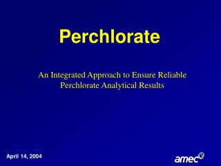 Perchlorate