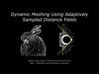 Dynamic Meshing Using Adaptively Sampled Distance Fields