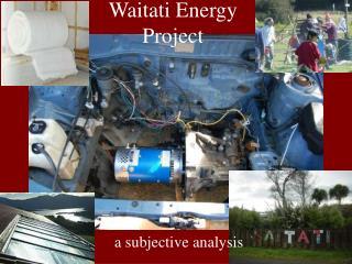 Waitati Energy  Project