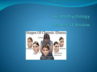 Health Psychology Third Edition Chapter 11  Review