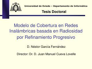 Modelo de Cobertura en Redes Inalámbricas basada en Radiosidad por Refinamiento Progresivo