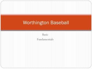 Worthington  Baseball