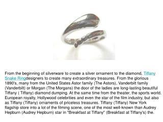 Tiffany Snake Ringdesigners