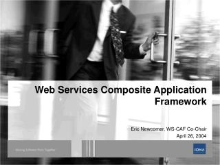 Web Services Composite Application Framework