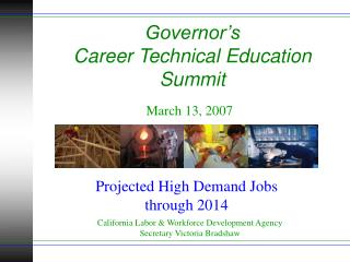 Governor's  Career Technical Education Summit