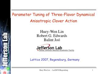 Parameter Tuning of Three-Flavor Dynamical Anisotropic Clover Action