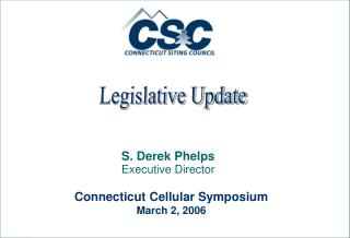 S. Derek Phelps Executive Director