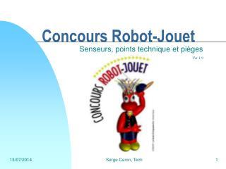 Concours Robot-Jouet