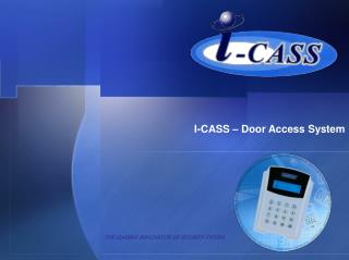 I-CASS   Door Access System