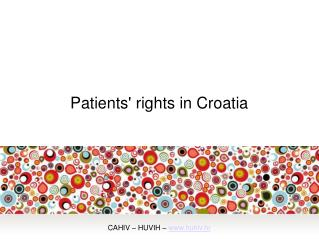 Patients' rights in Croatia