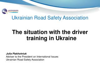 Ukrainian Road Safety Association