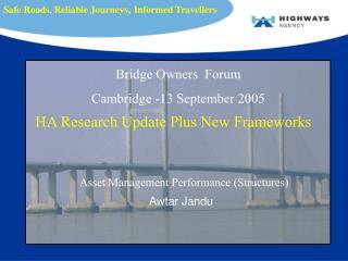 Asset Management Performance (Structures)