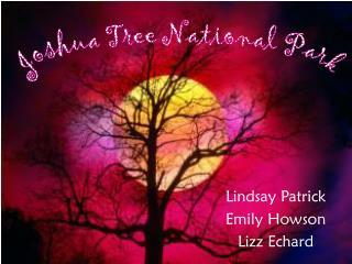 Lindsay Patrick Emily Howson Lizz Echard