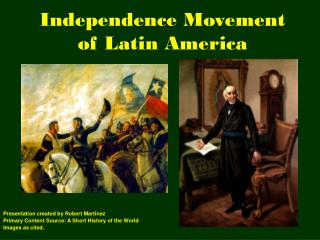 Independence Movement of Latin America