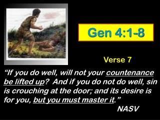 Gen 4:1-8