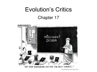Evolution�s Critics