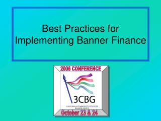 Best Practices for Implementing Banner Finance