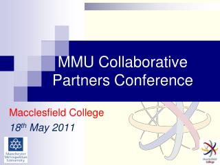 MMU Collaborative Partners Conference