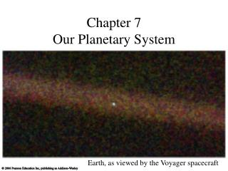 Chapter 7 Our Planetary System
