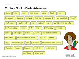 Captain Plank's Pirate Adventure