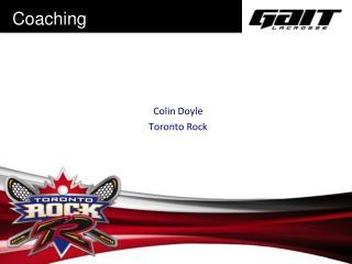 Colin Doyle Toronto Rock