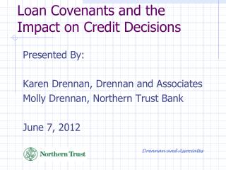 Loan Covenants and the Impact on Credit Decisions
