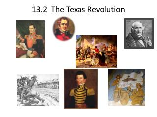 13.2   The Texas Revolution