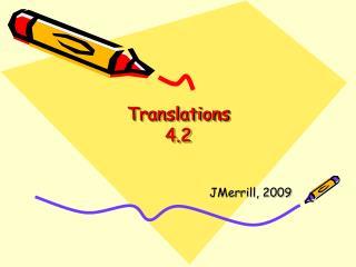 Translations 4.2