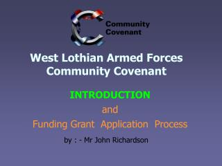 West Lothian Armed Forces Community Covenant
