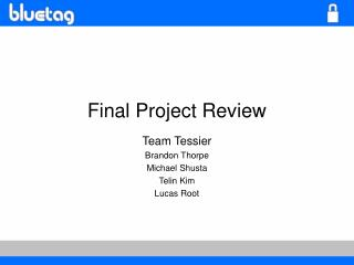 Final Project Review