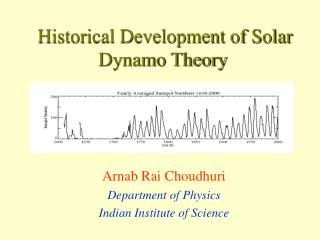 Historical Development of Solar Dynamo Theory