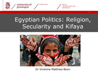 Egyptian Politics :  Religion ,  Secularity and Kifaya