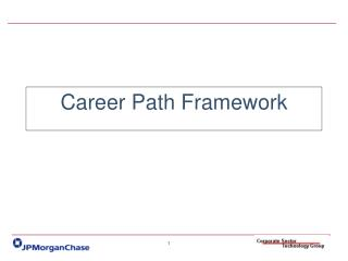 Career Path Framework