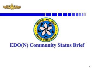 EDON Community Status Brief