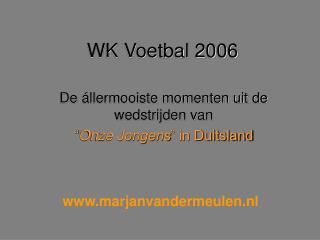 WK Voetbal 2006
