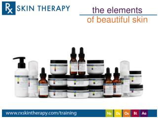 t he elements of beautiful skin