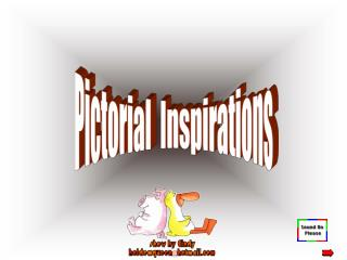 Pictorial  Inspirations