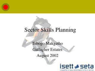 Sector Skills Planning