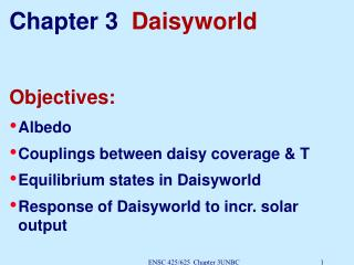 Chapter 3   Daisyworld