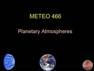 METEO 466