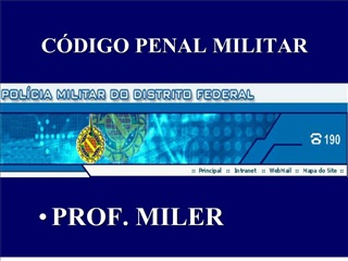 C DIGO PENAL MILITAR