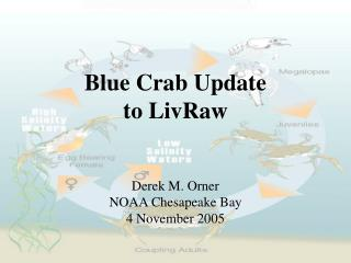 Blue Crab Update  to LivRaw
