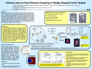 Intense Laser-to-Fast Electron Coupling in Wedge Shaped Cavity Targets