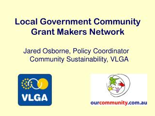 Local Government Community Grant Makers Network