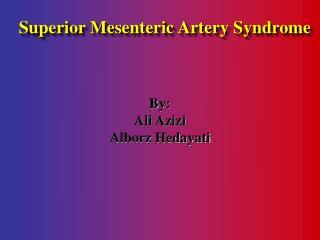By: Ali Azizi Alborz Hedayati