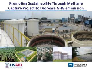 Promoting Sustainability Through Methane Capture Project to Decrease GHG emmission