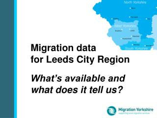 Migration data  for Leeds City Region