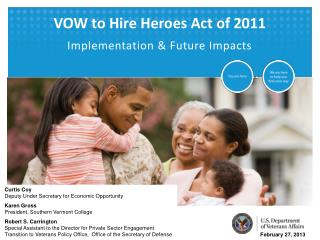 VOW to Hire Heroes Act of 2011