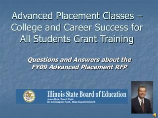 Advanced Placement Classes – College and Career Success for All Students Grant Training