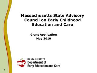 Massachusetts State Advisory Council on Early Childhood Education and Care